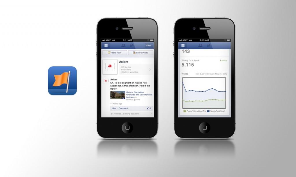 אפליקציית פייסבוק למנהלי דף אוהדים